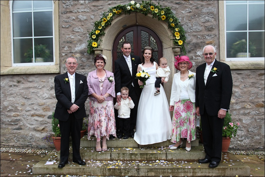 Ingleton methodist Church, wedding photographs-15