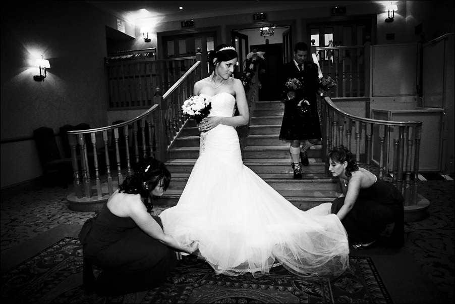Lyndsey and Jamie wedding photographs at New Drumossie Hotel Inverness-6