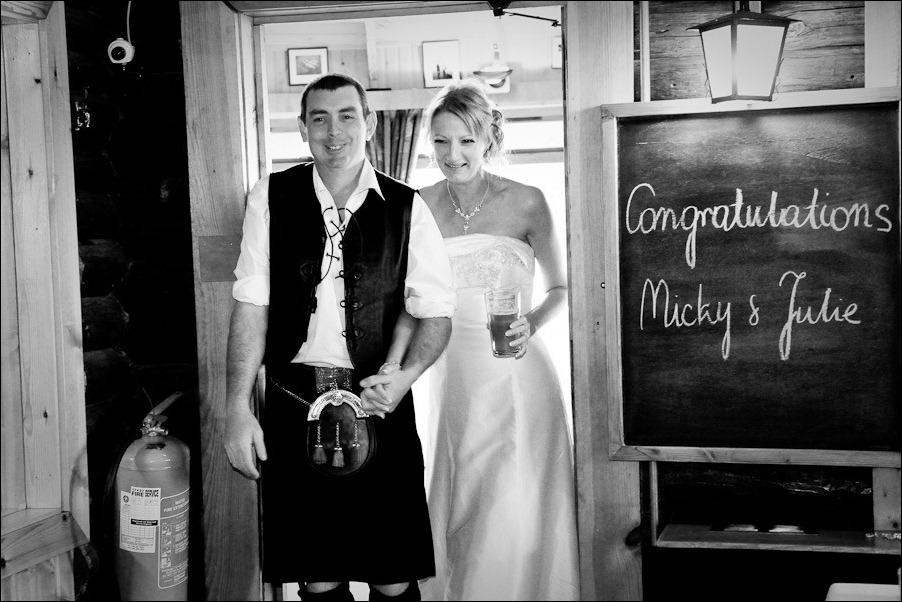 wedding photograph Loch Insh watersports Centre-31