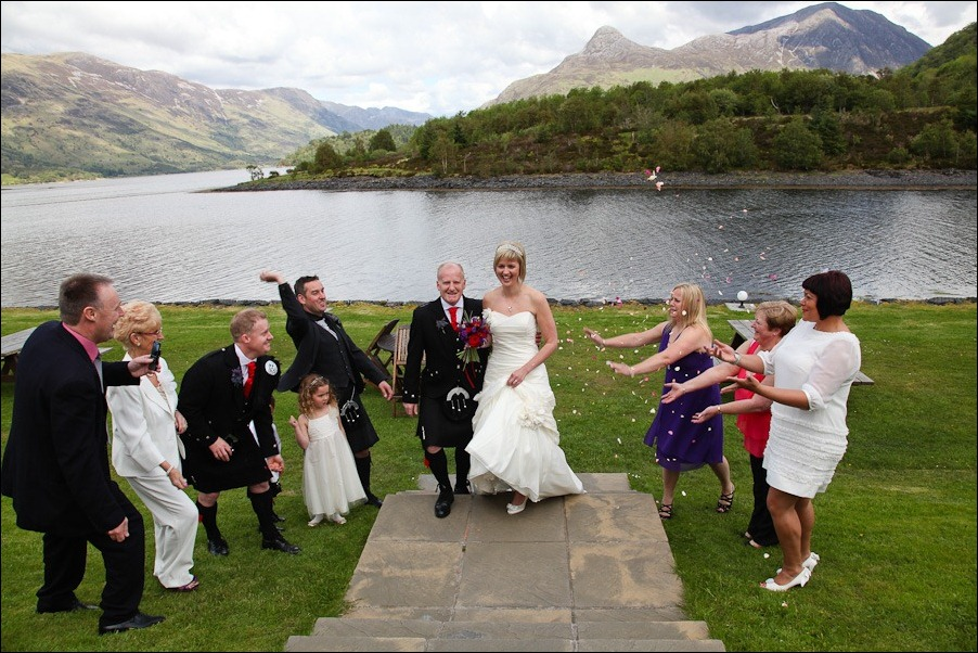 Wedding photography at the Isles of Glencoe Hotel, Highlands-30