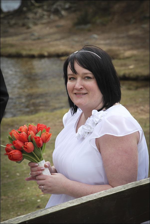 Wedding photograph at Loch an Eilean, Rothiemurchus, Aviemore-4086