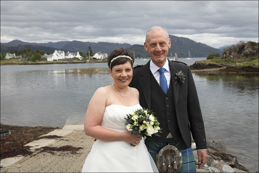 wedding photgraphy on the Sula Mhor sailing out of Plockton, Scotland-8188