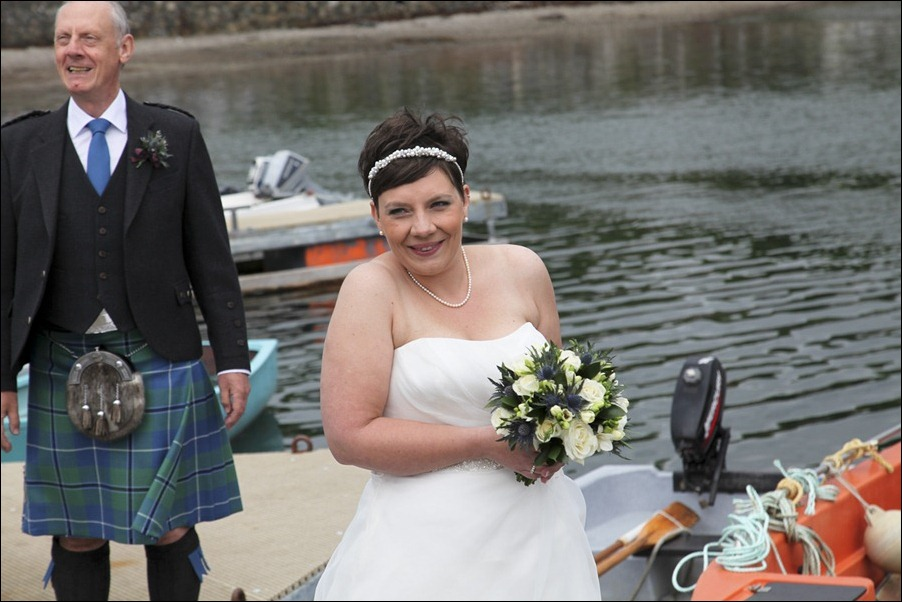 wedding photgraphy on the Sula Mhor sailing out of Plockton, Scotland-8218