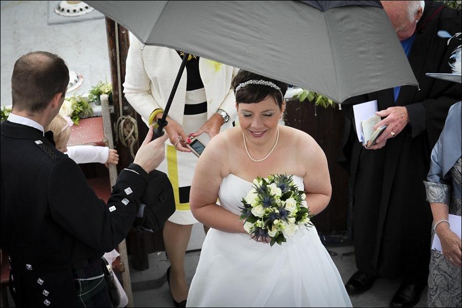 wedding photgraphy on the Sula Mhor sailing out of Plockton, Scotland-8241
