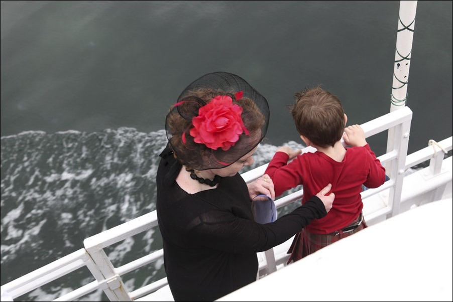 wedding photgraphy on the Sula Mhor sailing out of Plockton, Scotland-8258