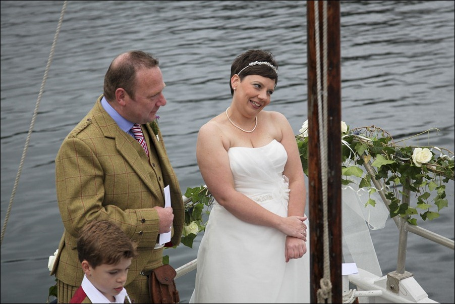 wedding photgraphy on the Sula Mhor sailing out of Plockton, Scotland-8296
