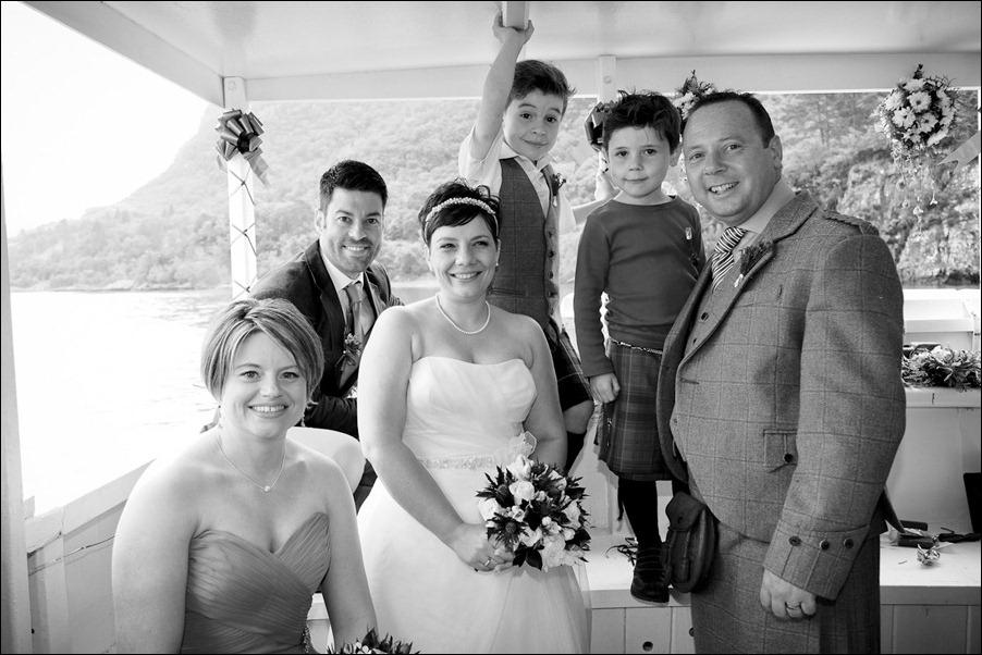 wedding photgraphy on the Sula Mhor sailing out of Plockton, Scotland-8371-2