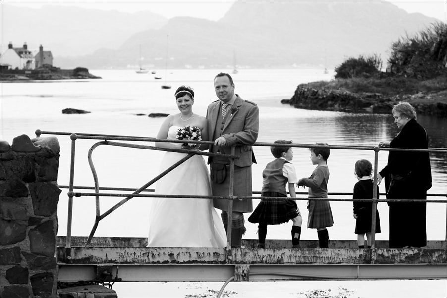 wedding photgraphy on the Sula Mhor sailing out of Plockton, Scotland-8435