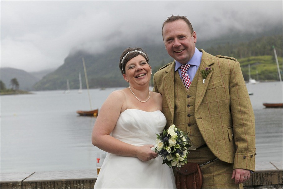 wedding photgraphy on the Sula Mhor sailing out of Plockton, Scotland-8485