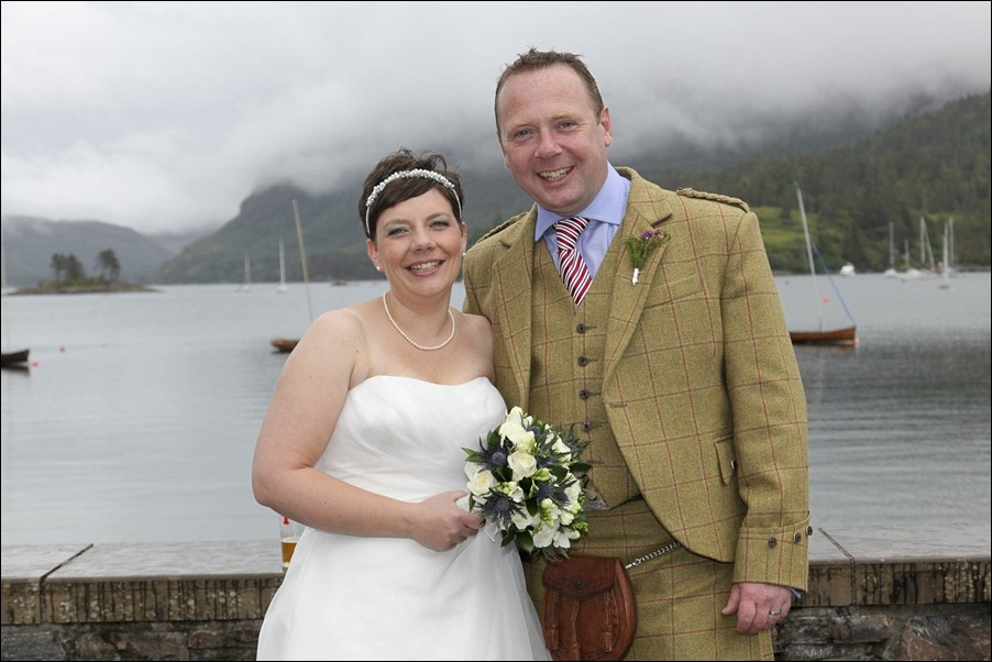 wedding photgraphy on the Sula Mhor sailing out of Plockton, Scotland-8492