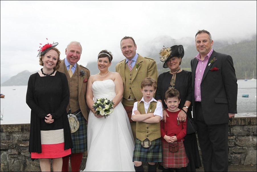 wedding photgraphy on the Sula Mhor sailing out of Plockton, Scotland-8525