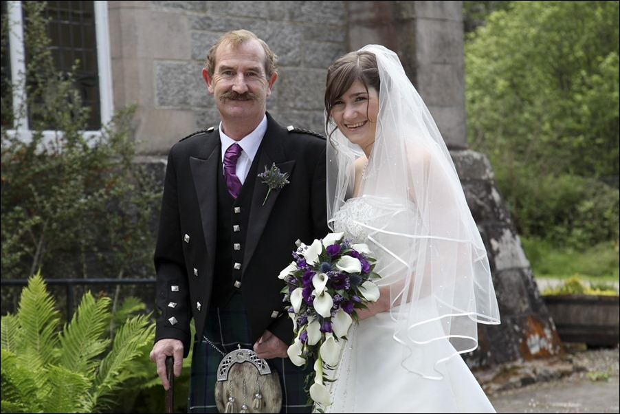 Wedding photograph at Alvie House, Highlands -9114