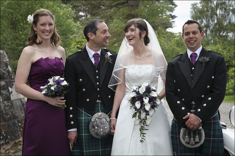 Wedding photograph at Alvie House, Highlands -9256