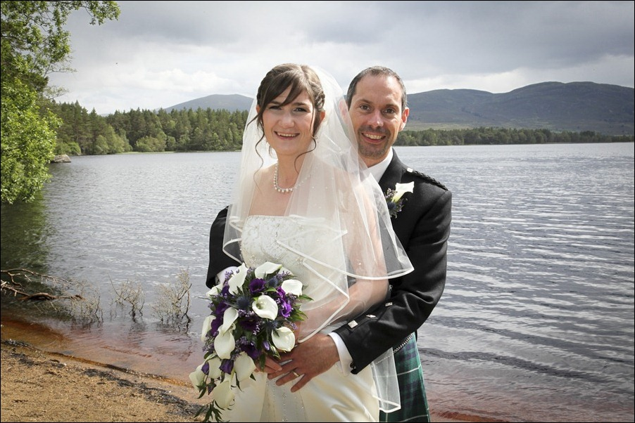 Wedding photograph at Alvie House, Highlands -9368