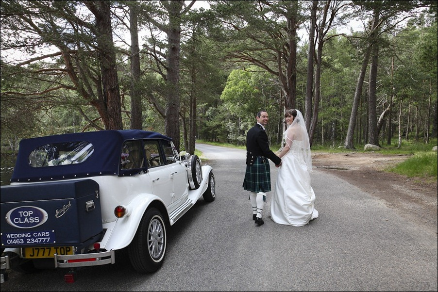 Wedding photograph at Alvie House, Highlands -9385