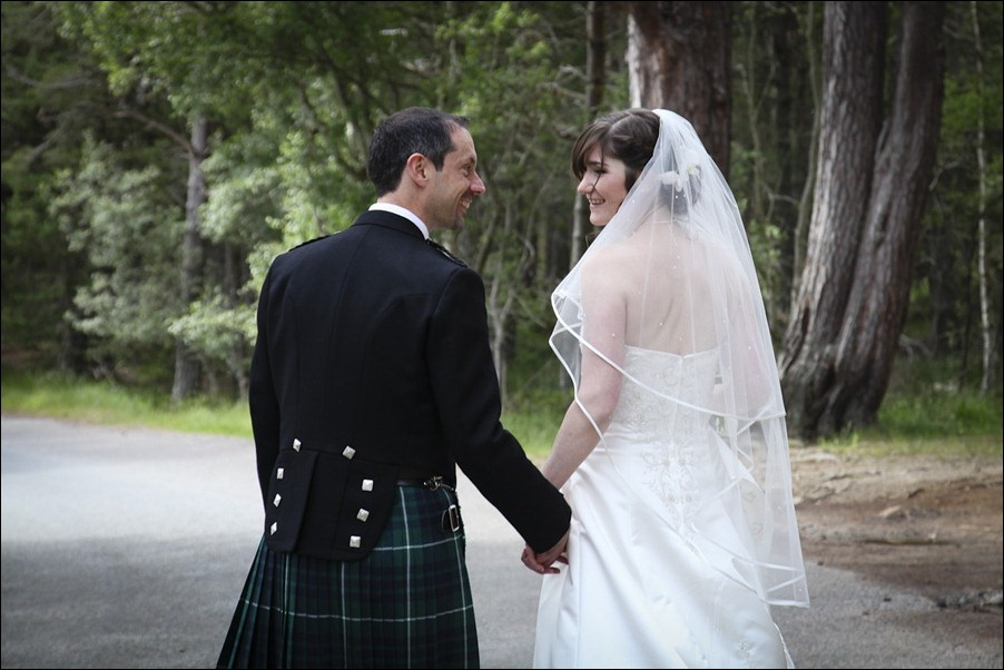 Wedding photograph at Alvie House, Highlands -9388