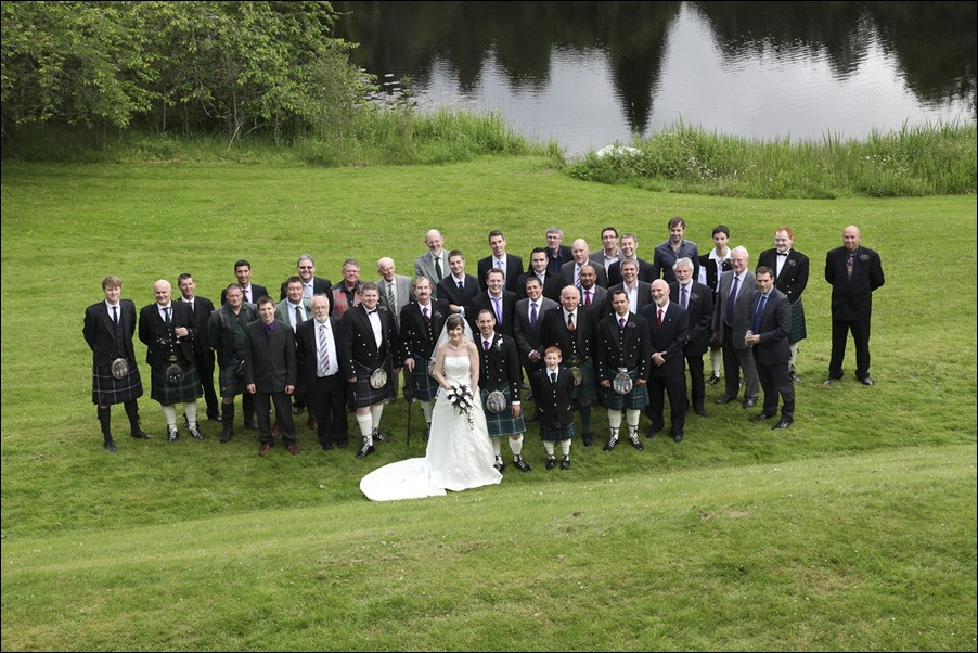 Wedding photograph at Alvie House, Highlands -9511