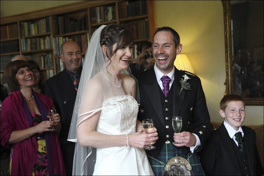 Wedding photograph at Alvie House, Highlands -9602