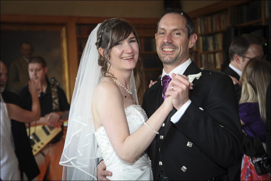 Wedding photograph at Alvie House, Highlands -9781