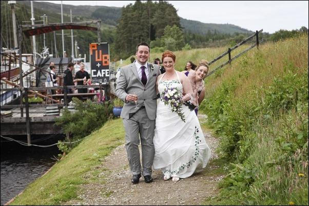 Wedding photography at Eagle Barge Inn, Laggan-2021