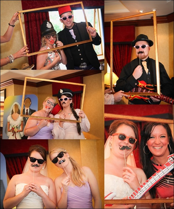 Photo booth at Newton Hotel Nairn