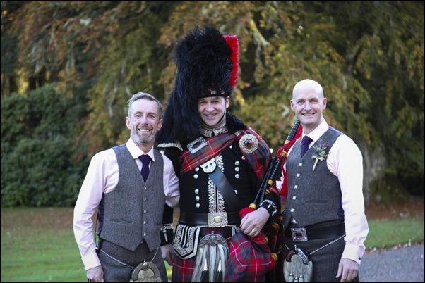 wedding photography at Leys Castle, Inverness, Highland-8601