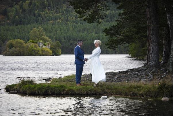 wedding photography at Loch and Eilein-6643