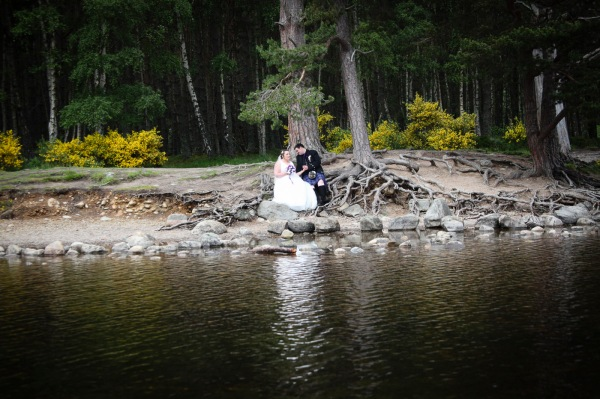 wedding photography at the Cairngorm Hotel and Loch and Eilein, Aviemore-0972
