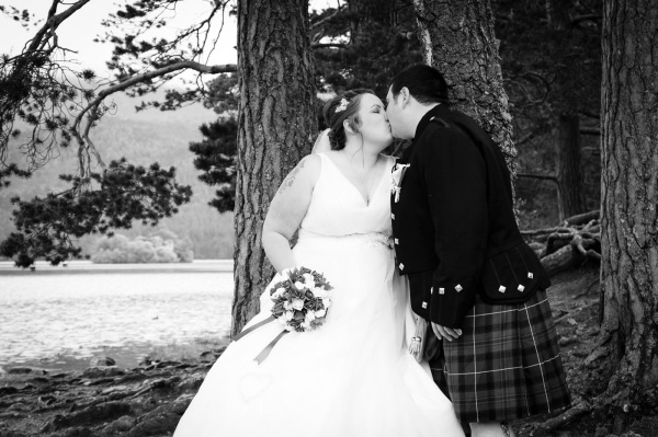 wedding photography at the Cairngorm Hotel and Loch and Eilein, Aviemore-8261