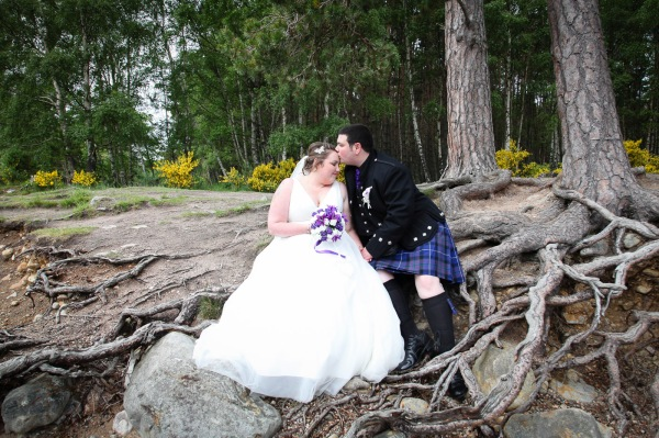 wedding photography at the Cairngorm Hotel and Loch and Eilein, Aviemore-8306
