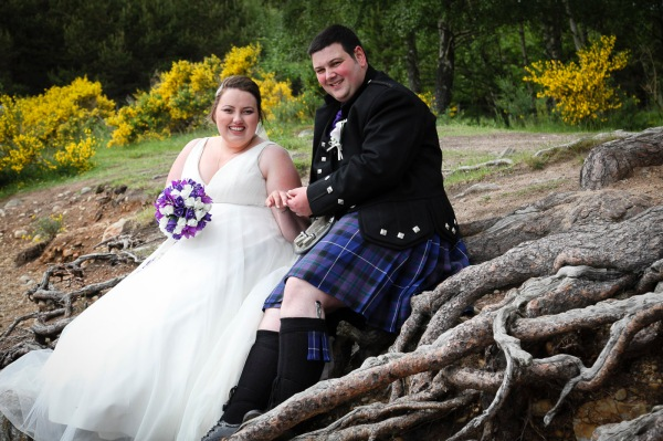 wedding photography at the Cairngorm Hotel and Loch and Eilein, Aviemore-8313
