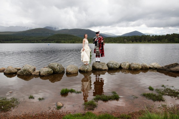 wedding photography at the Hilton Coylumbridge and Loch Morlich, Aviemore-1346