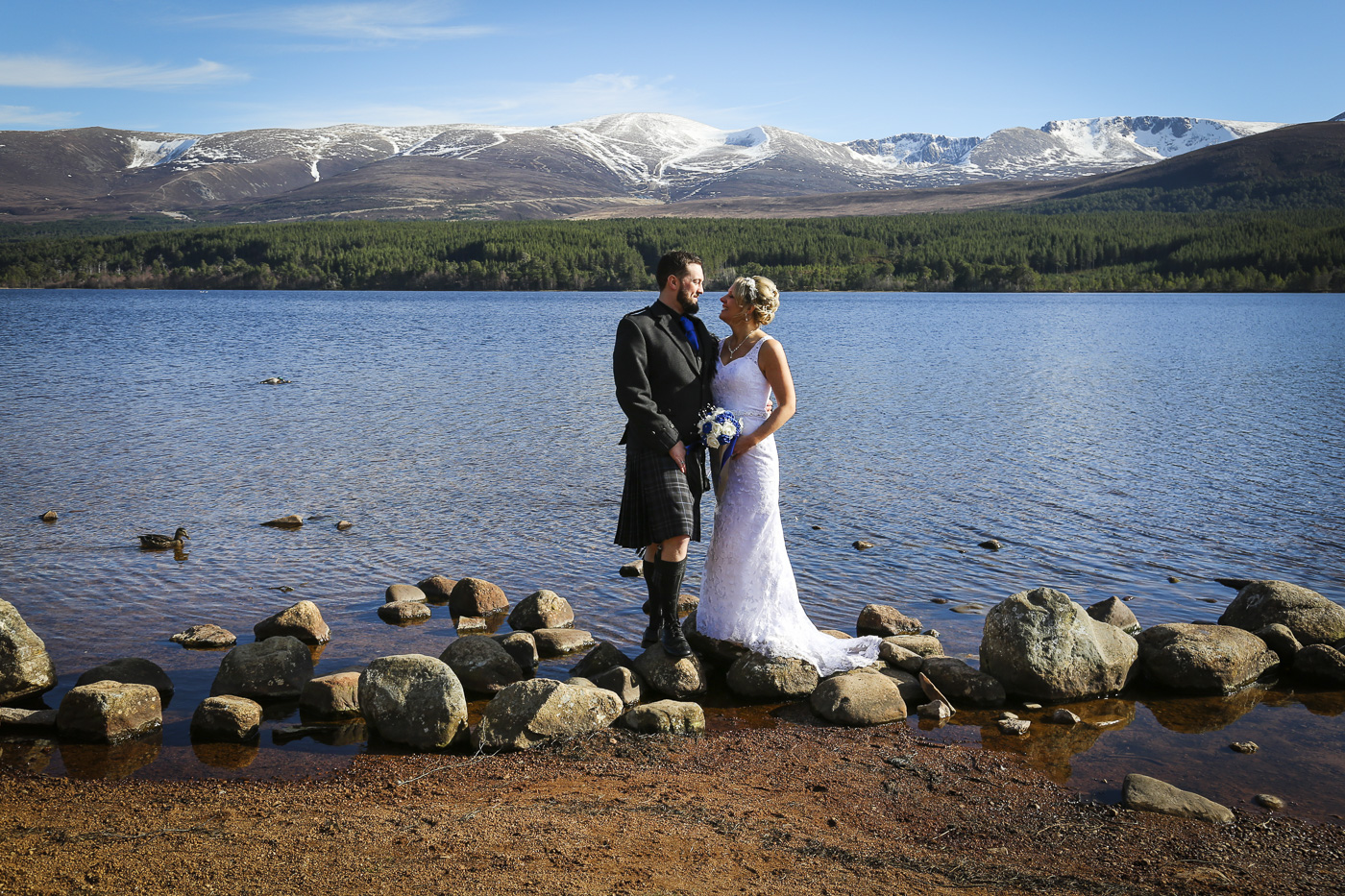 Wedding photography at The Hilton Coylumbridge and Loch Morlich-0100