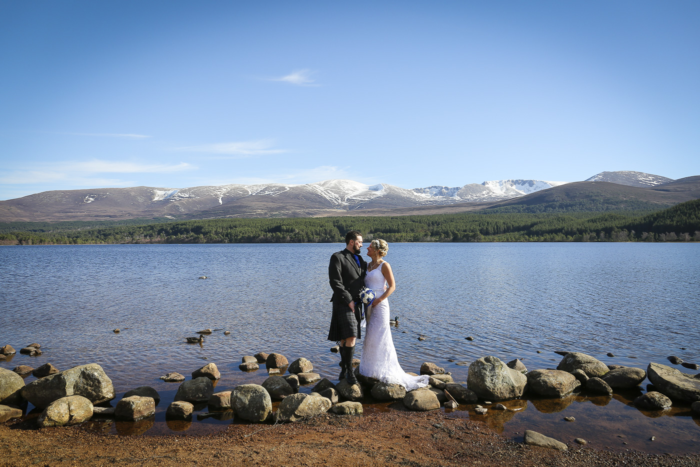 Wedding photography at The Hilton Coylumbridge and Loch Morlich-0101