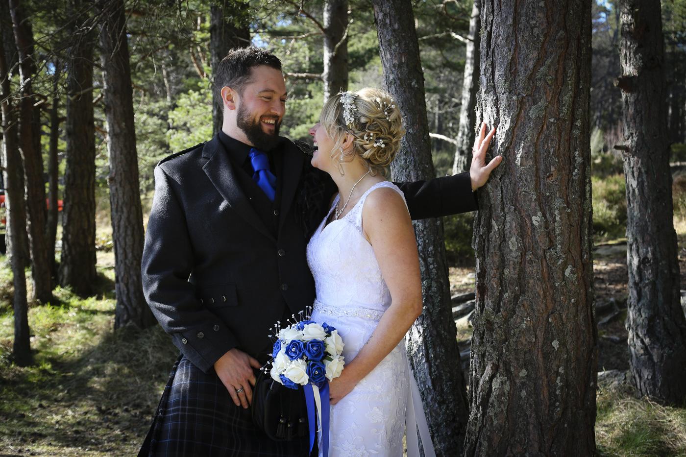 Wedding photography at The Hilton Coylumbridge and Loch Morlich-0120
