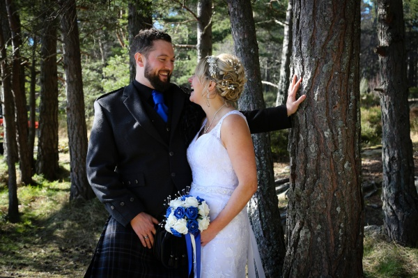 Wedding photography at The Hilton Coylumbridge and Loch Morlich-0120