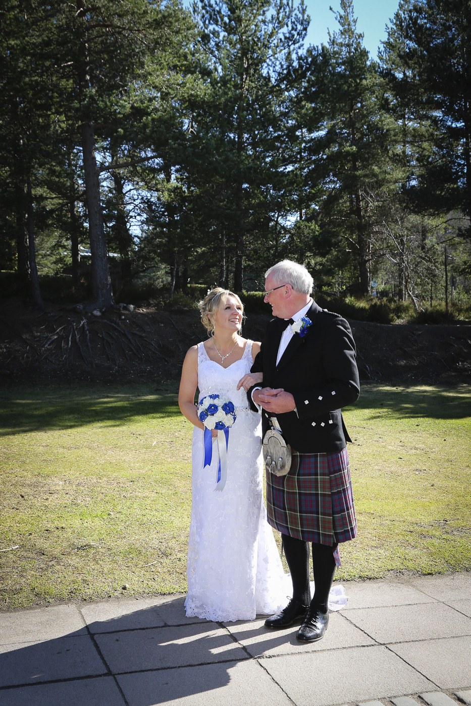 Wedding photography at The Hilton Coylumbridge and Loch Morlich-9845