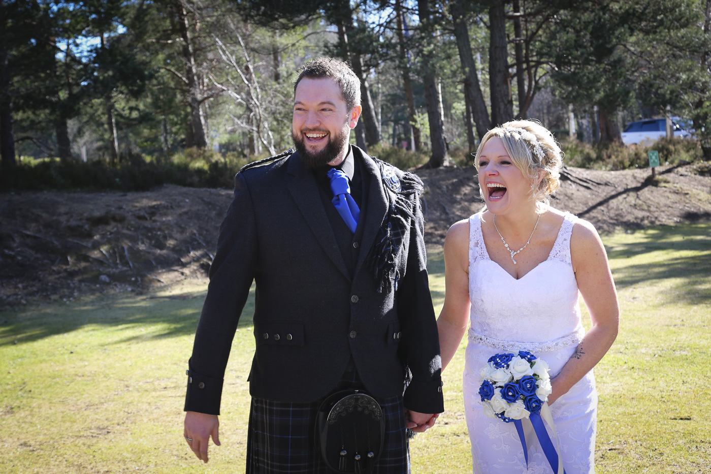 Wedding photography at The Hilton Coylumbridge and Loch Morlich-9982