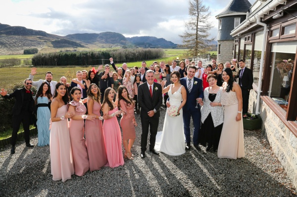 Wedding photography at The Laggan Hotel and Laggan Church-1035