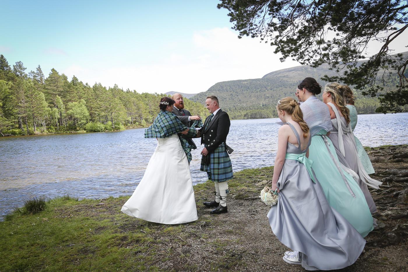 wedding photography at Loch an Eilein, Rothiemurchus-3953