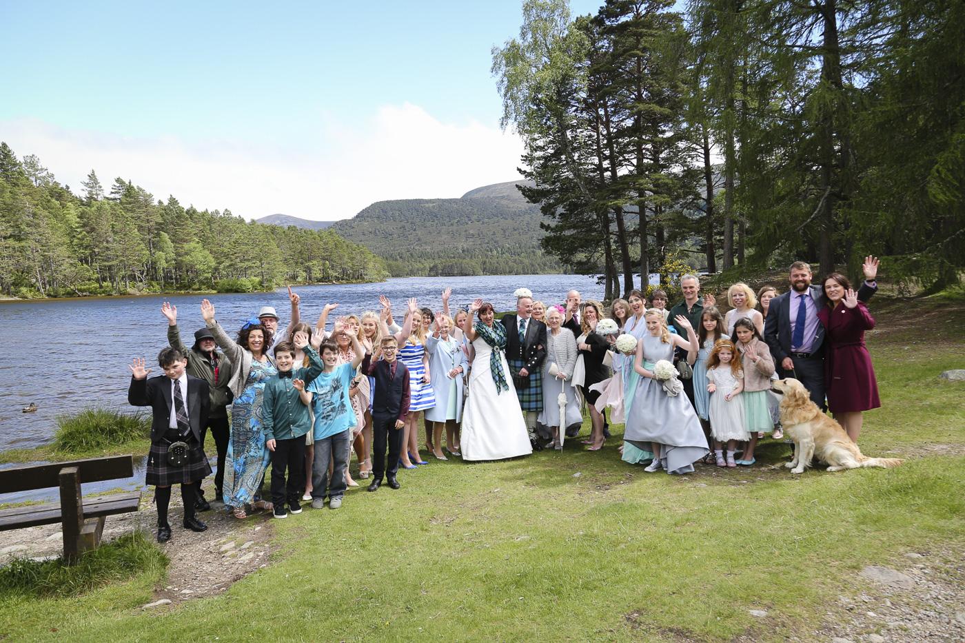 wedding photography at Loch an Eilein, Rothiemurchus-4083