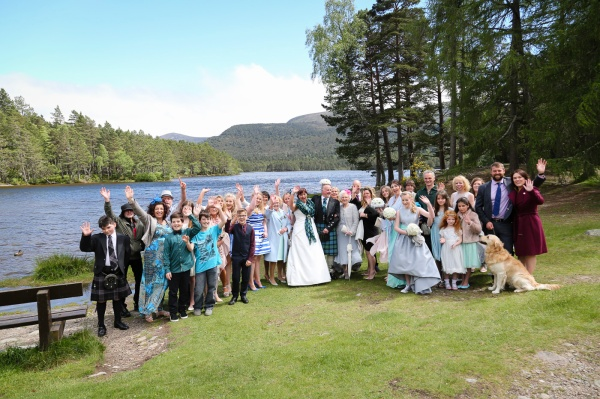 wedding photography at Loch an Eilein, Rothiemurchus-4083